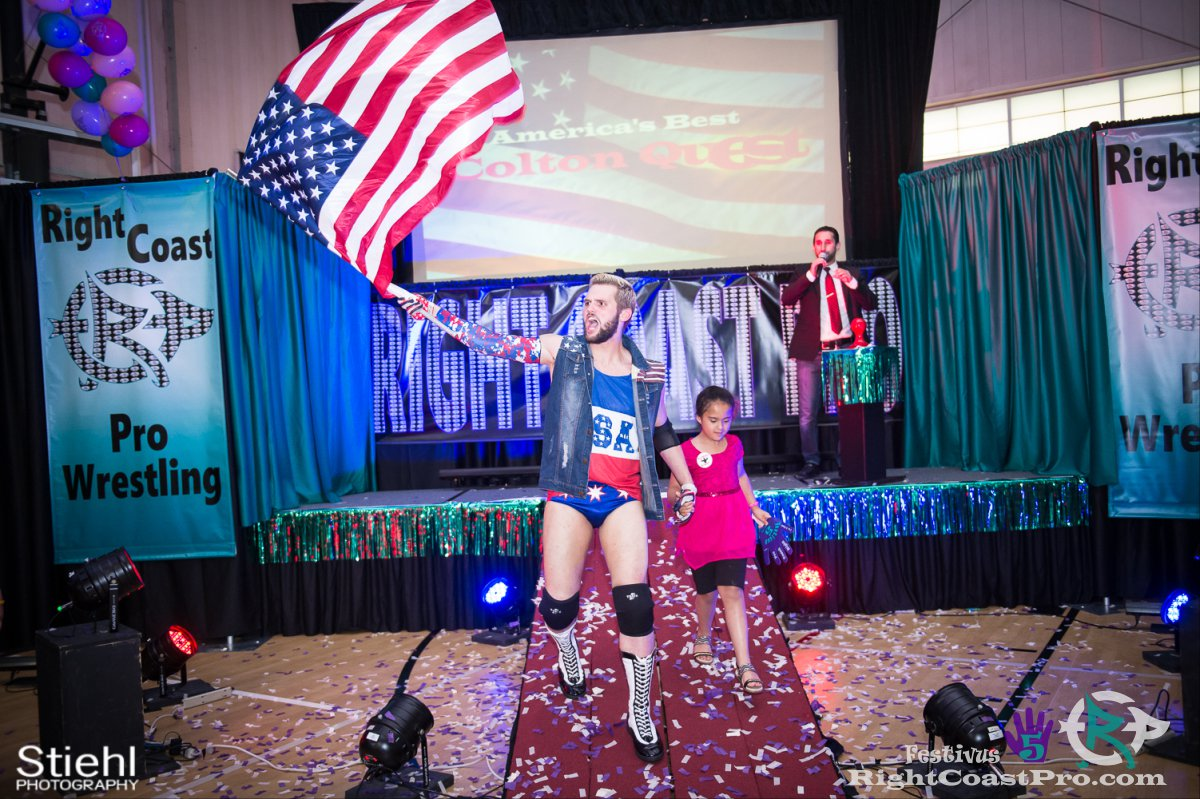 ColtonQuest A Festivus Five RightCoast ProWrestling Delaware Event