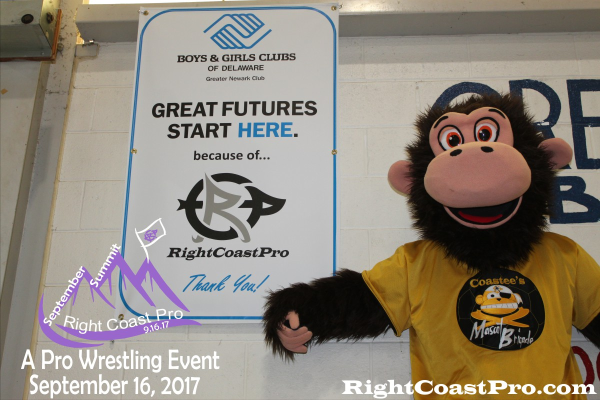 Mascot Coastee SeptemberSummit RightCoastPro