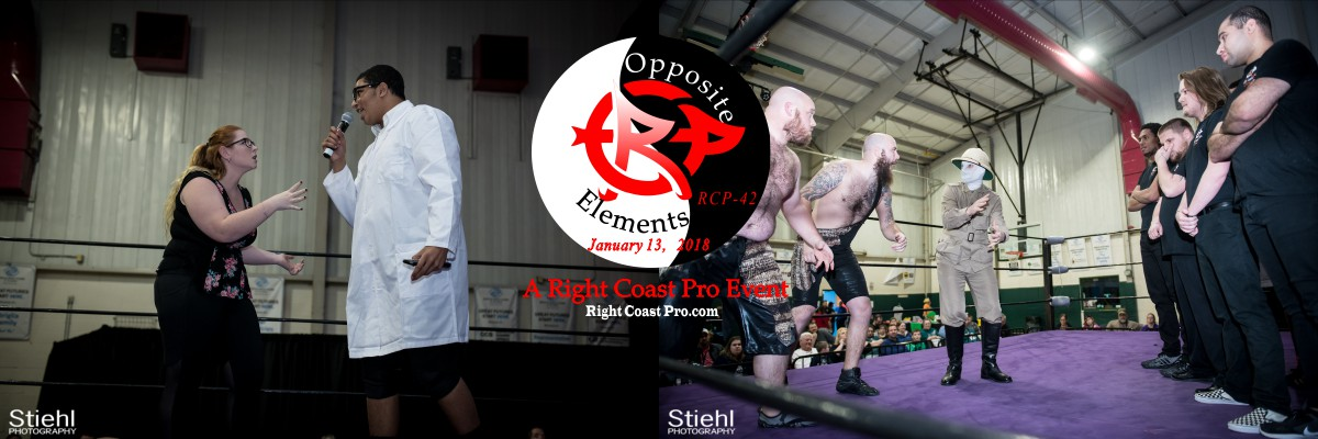SmallBanner Dexter Lab OppositeElements RCP42 RightCoast Pro Wrestling Delaware
