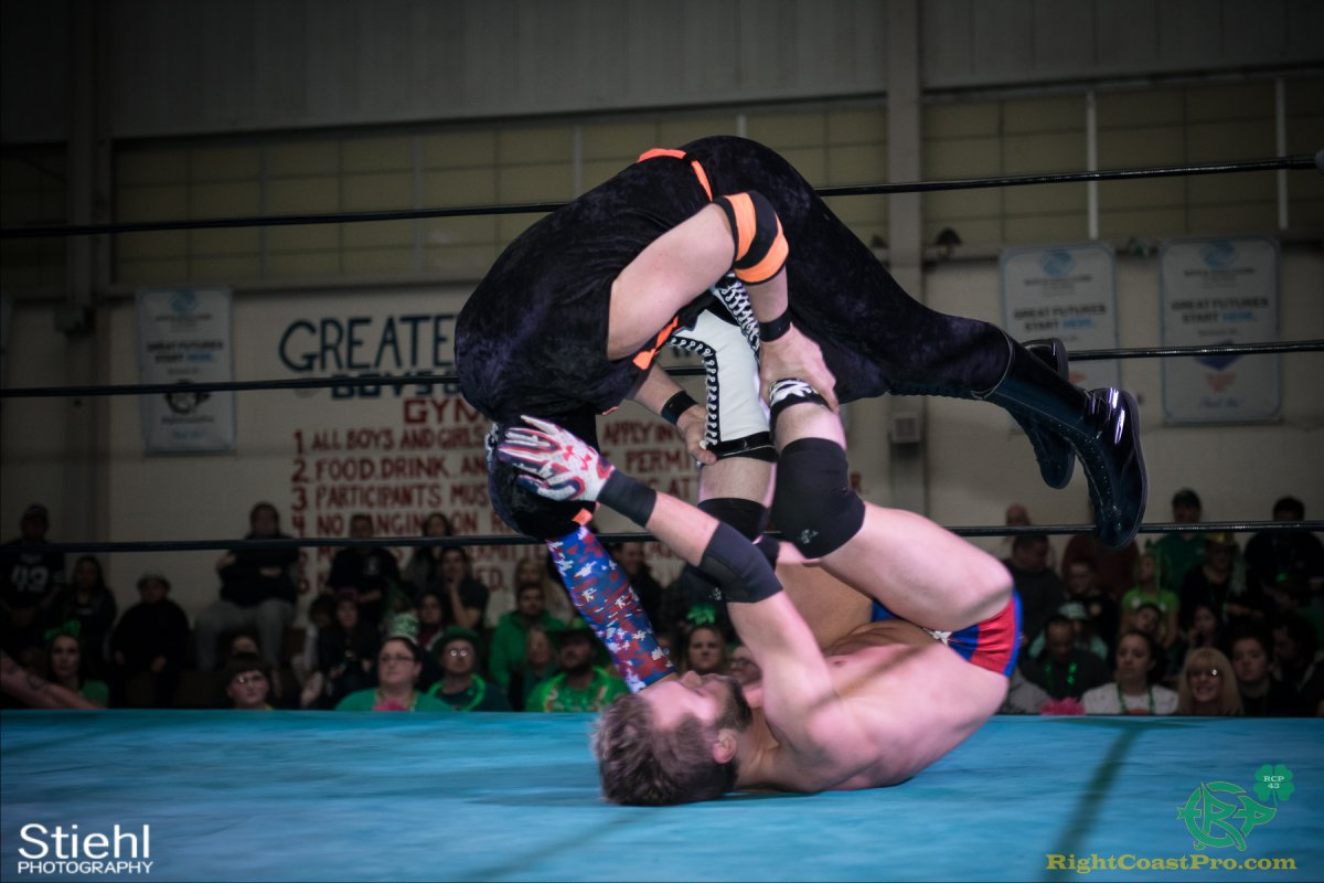 FourWay 12 RightCoastPro Wrestling Delaware BlarneyBlast RCP43