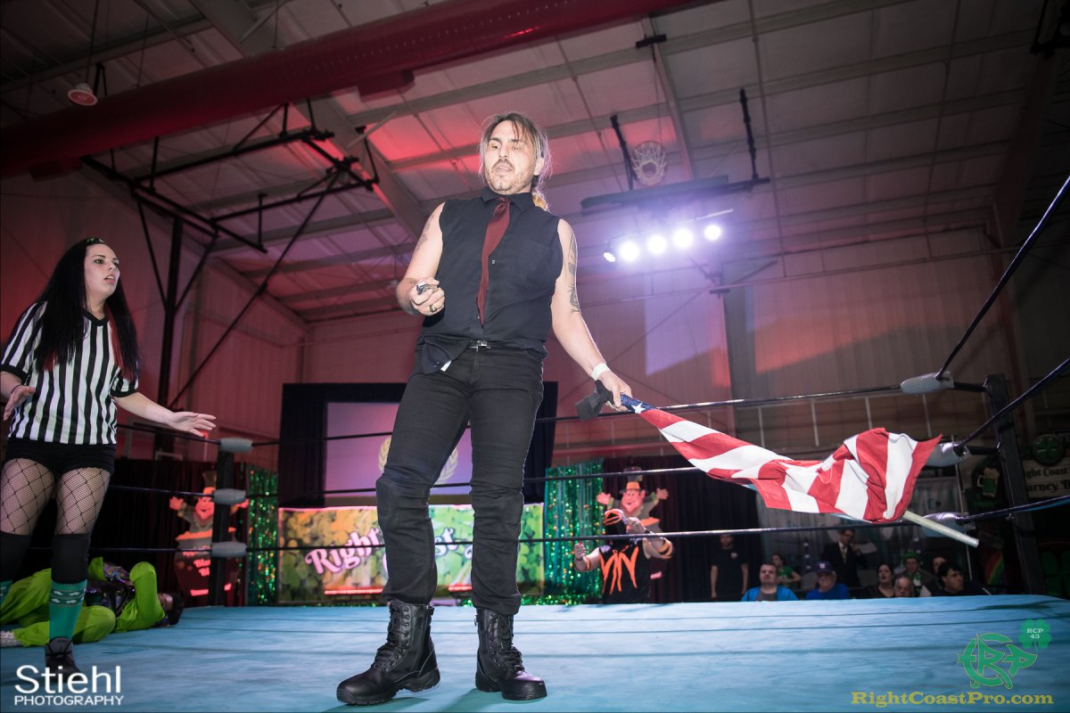 FourWay 18 RightCoastPro Wrestling Delaware BlarneyBlast RCP43