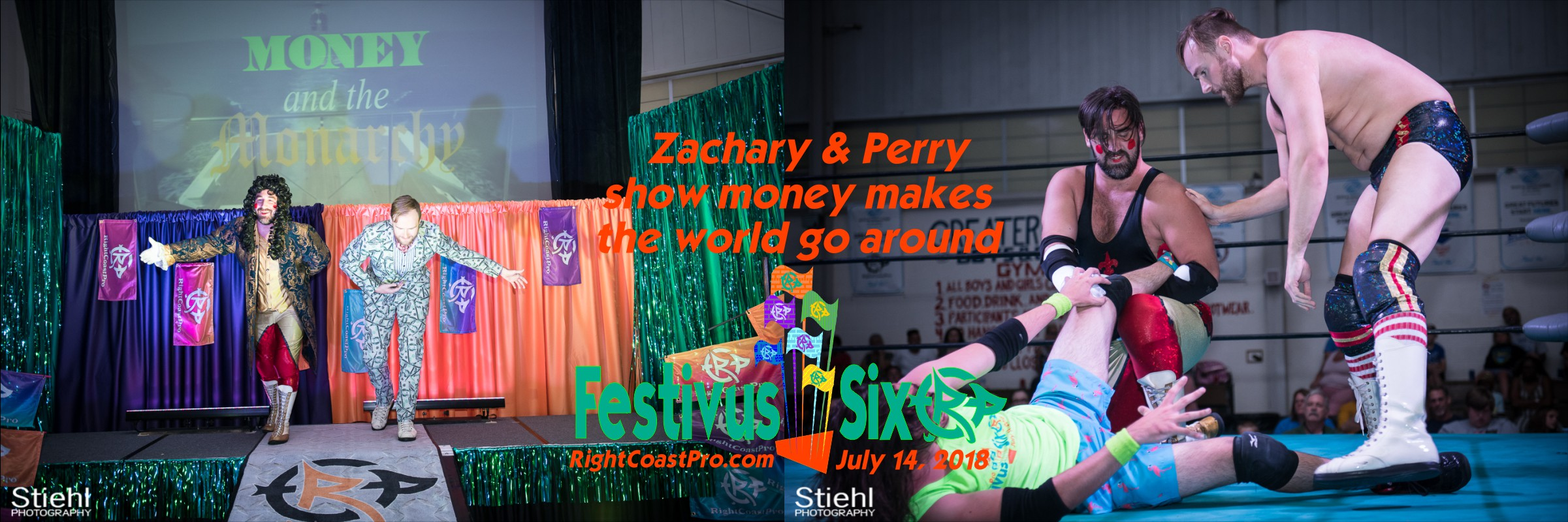 Banner Zachary Perry RightCoastPro Wrestling Delaware Festivus Six