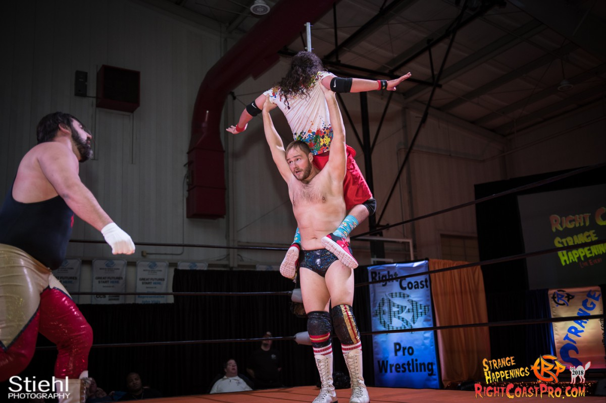 15 MM KRAZYKIDS RCP49 RIGHTCOASTPRO WRESTLING DELAWARE