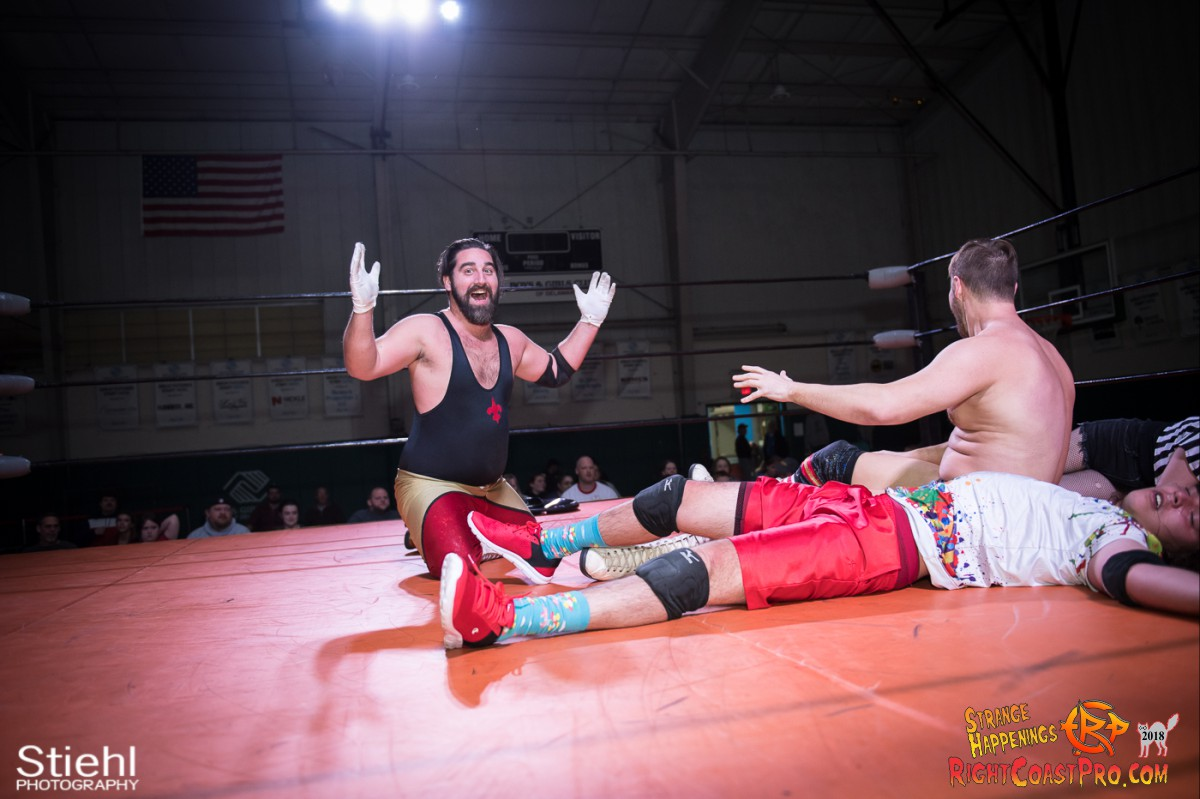22 MM KRAZYKIDS RCP49 RIGHTCOASTPRO WRESTLING DELAWARE