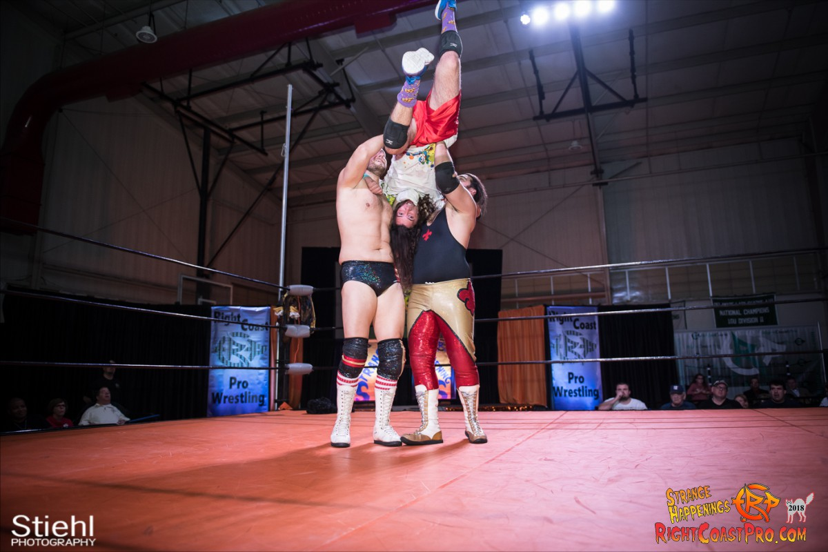 8 MM KRAZYKIDS RCP49 RIGHTCOASTPRO WRESTLING DELAWARE