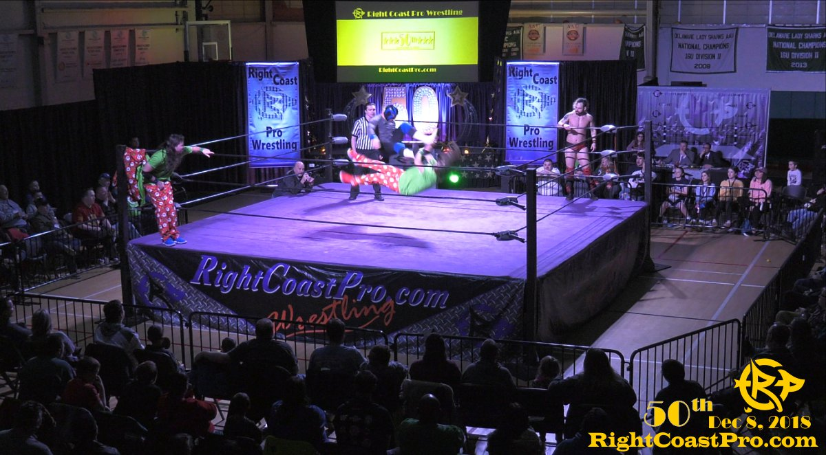Twins 2 RCP50 RightCoastProWrestlingDelaware