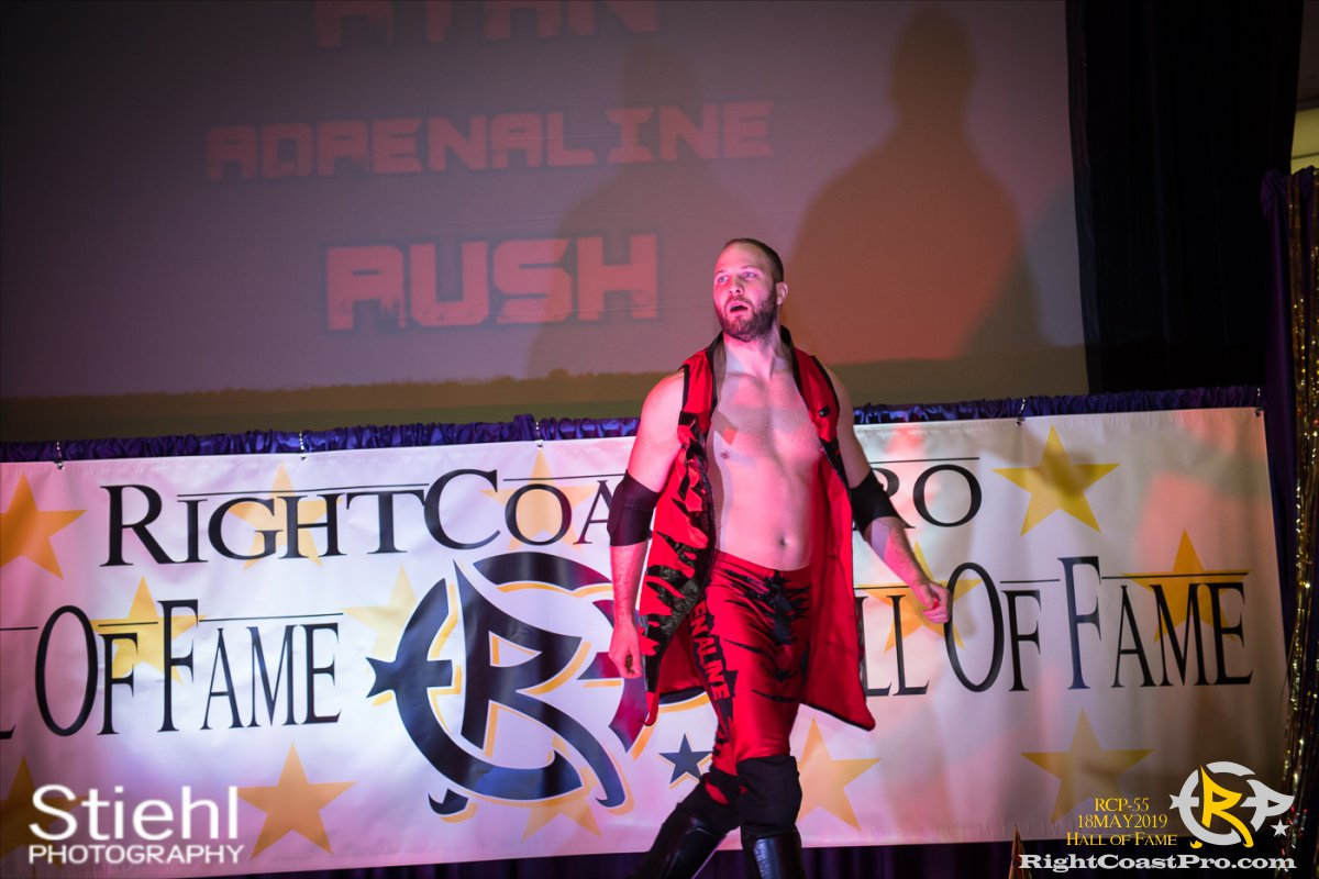 RCP55 1 rush fourway hof RightCoastProWrestlingDelaware