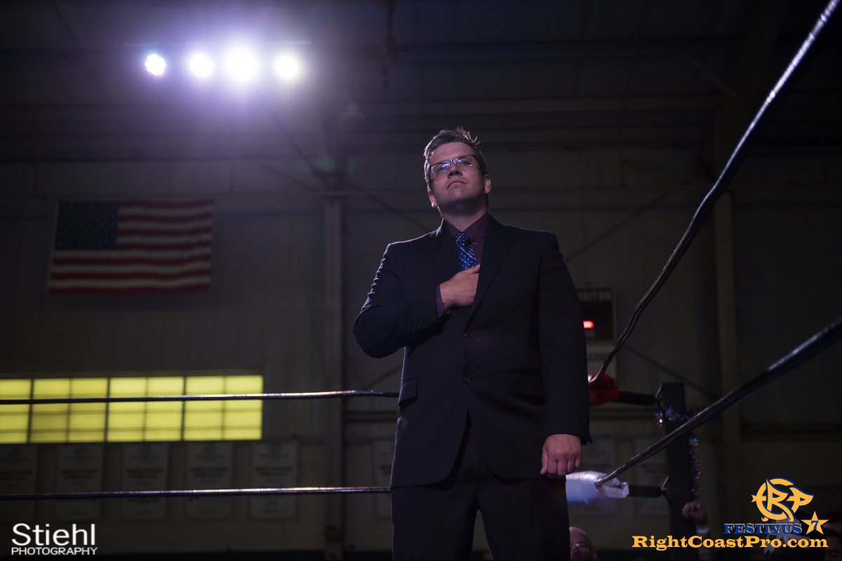 RCP56 3 NationalAnthem FESTIVUS rightcoastpro wrestling delaware