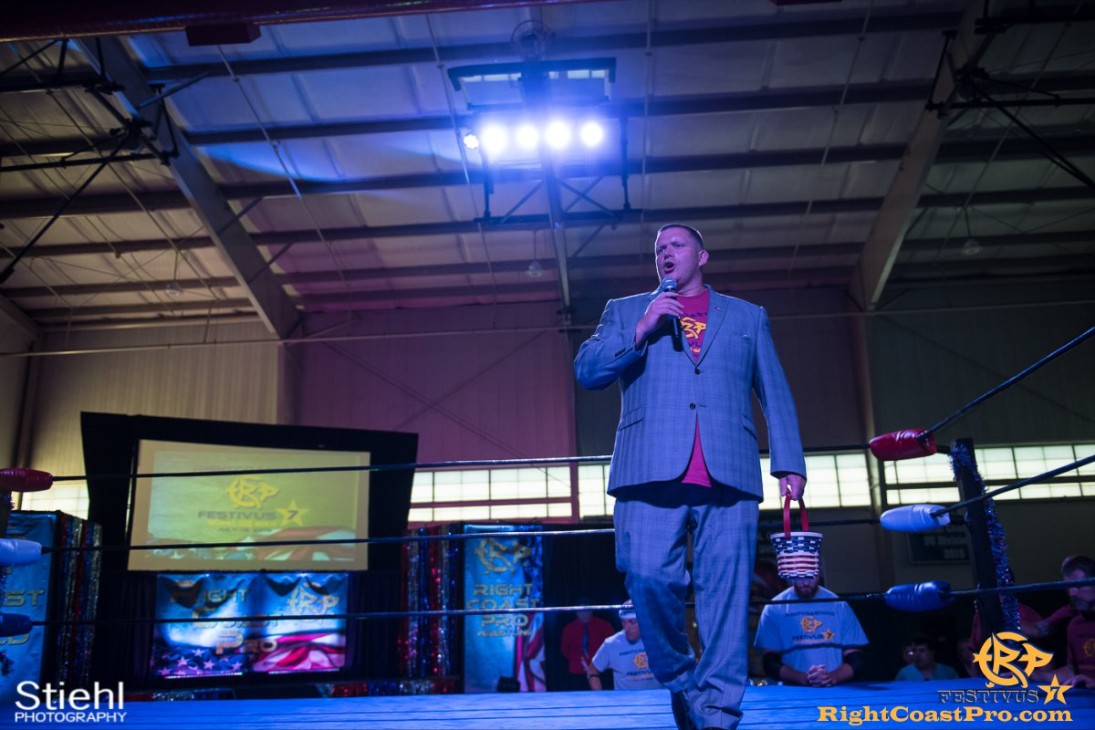 RCP56 5 NationalAnthem FESTIVUS rightcoastpro wrestling delaware