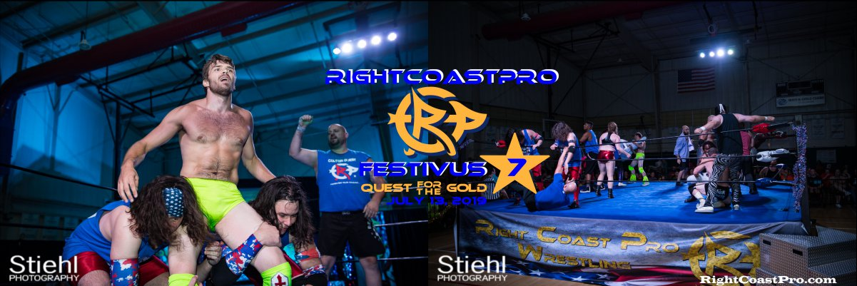 RCP56 Rumble 1200 FESTIVUS rightcoastpro wrestling delaware