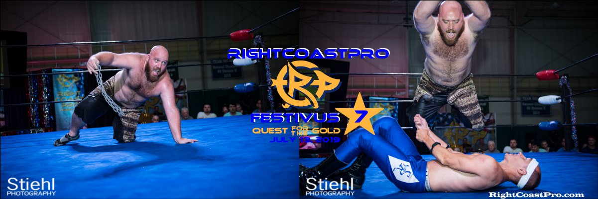 RCP56 1200 wwf royal FESTIVUS rightcoastpro wrestling delaware