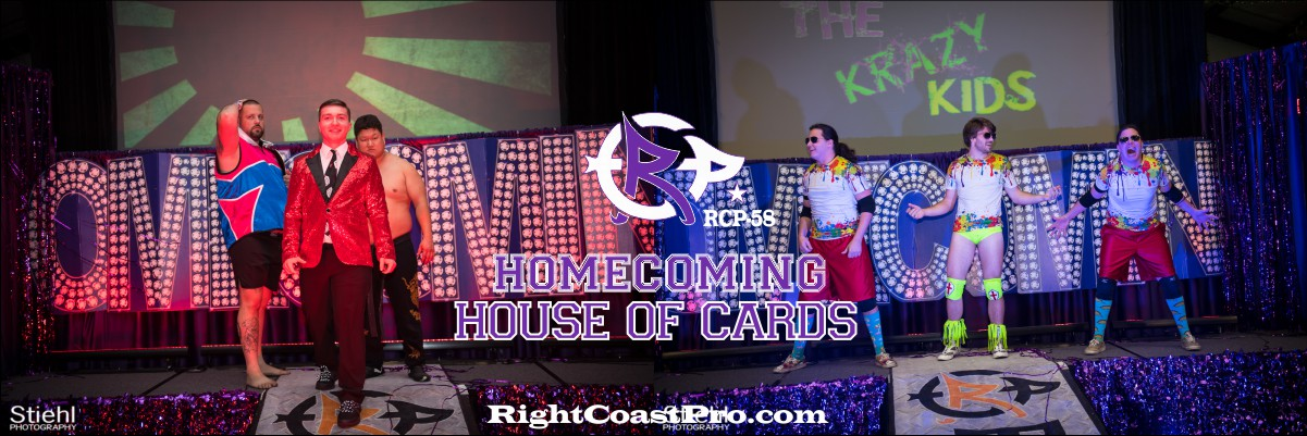 RCP58 1200 banner TAGMATCH Homecoming RightCoastProWrestlingDelaware