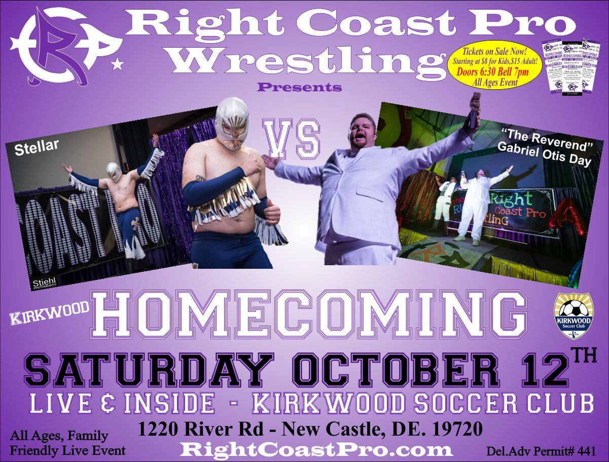 RCP58 GOD Homecoming RightCoastProWrestling Google