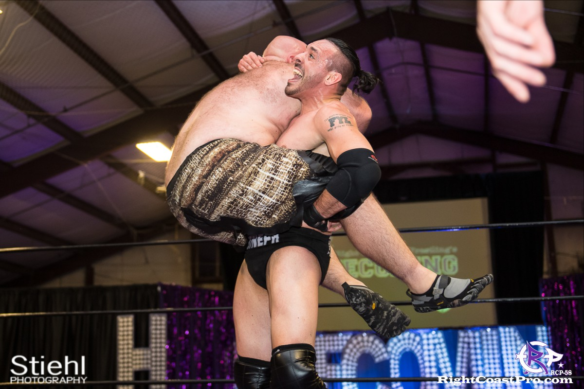 RCP58 18 Neph Profit Homecoming RightCoastProWrestlingDelaware
