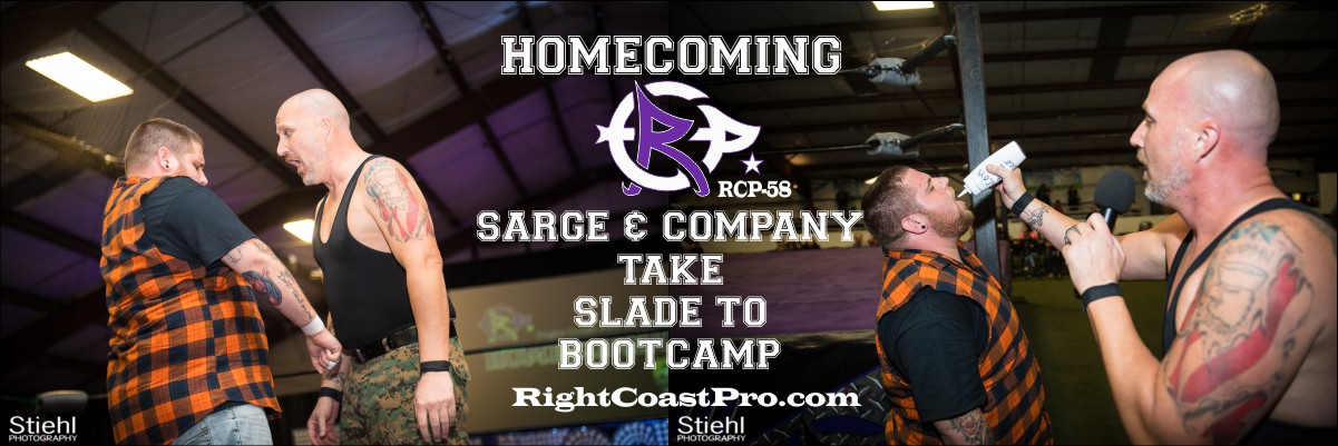 RCP58 SARGE1200 Homecoming RightCoastProWrestlingDelaware