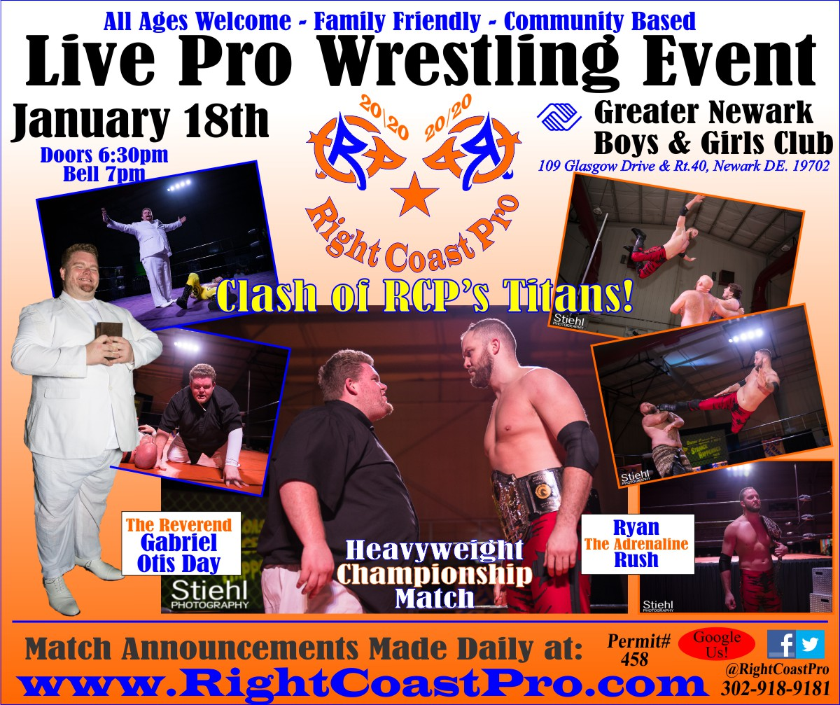 RCP60 Banner ampionship 2020 RightCoast Pro Wrestling Delaware