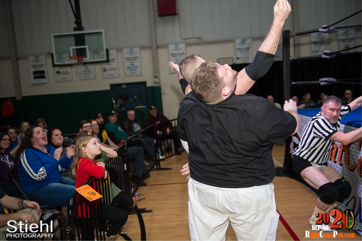 RCP60 15 RUSH GOD RightCoast ProWrestling Delaware