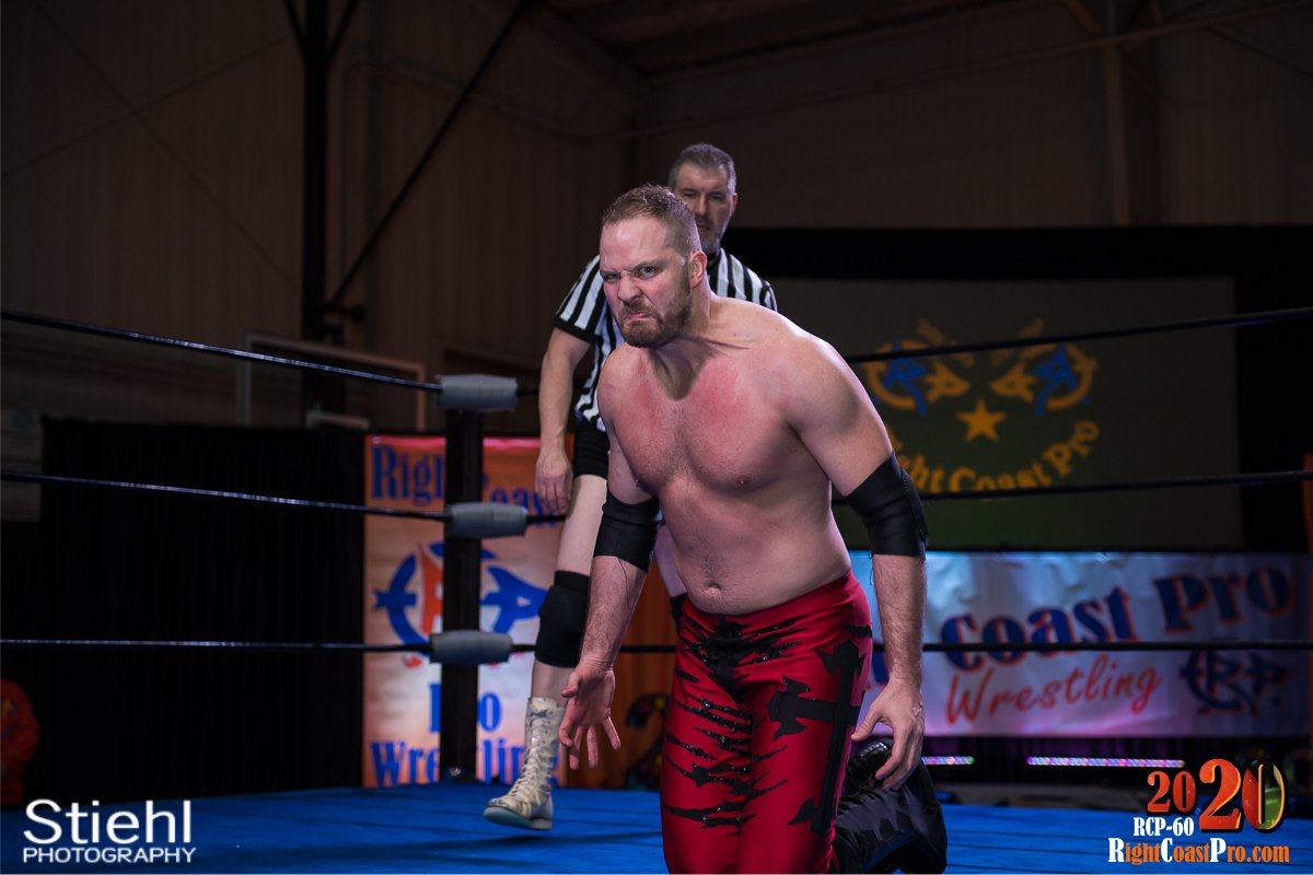 RCP60 25 RUSH GOD RightCoast ProWrestling Delaware