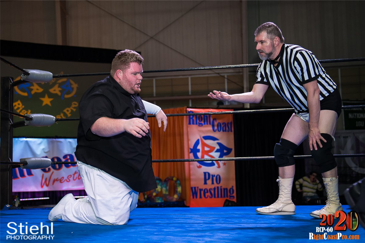 RCP60 22 RUSH GOD RightCoast ProWrestling Delaware