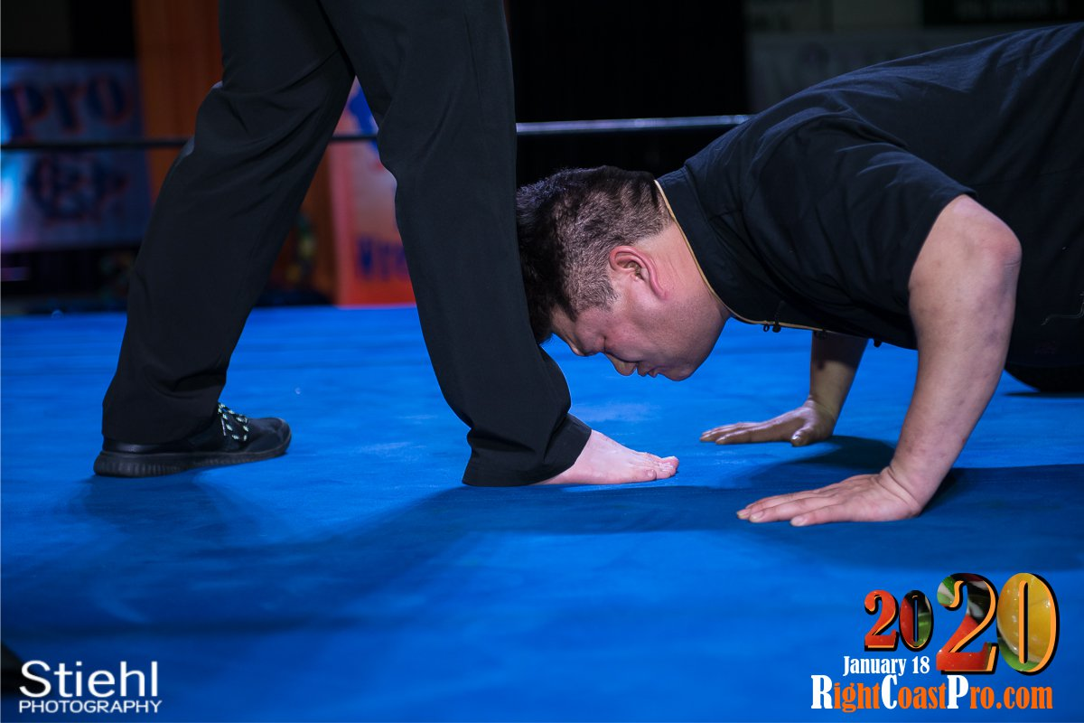 RCP60 18 FOOTKISSING RightCoast ProWrestling Delaware