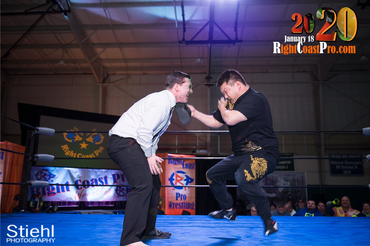 RCP60 25 FOOTKISSING RightCoast ProWrestling Delaware