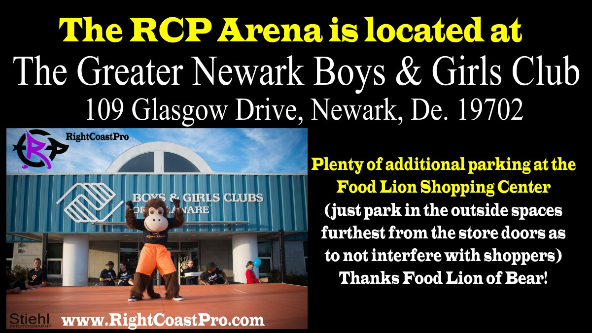 1200 RightCoastPro Arena GreaterNewarkBoysGirlsClub Delaware