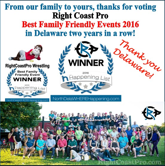 RightCoastPro Best familyfriendly event Delaware