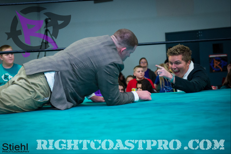 Crister Motivation DMC RightCoastPro Wrestling Delaware 2