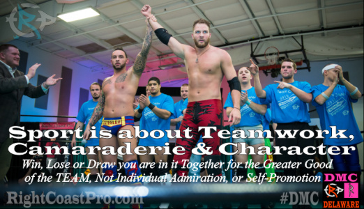 Teamwork RightCoastPro Wrestling Entertainment Delaware