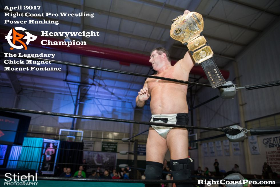 Champion Fontaine April Delaware Prowrestling ranking