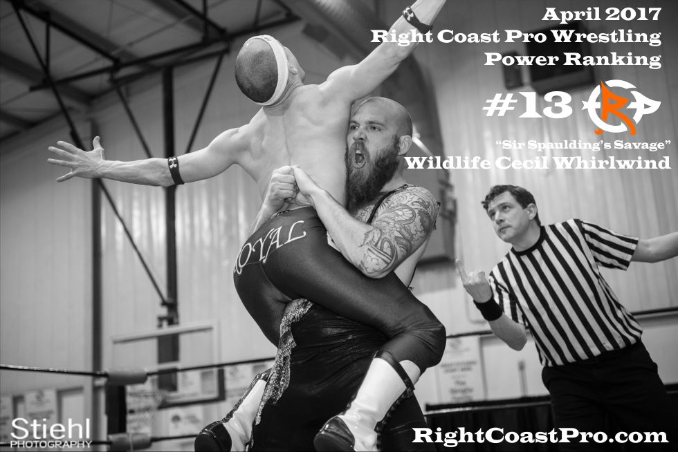 WCW 13 April Delaware Prowrestling ranking