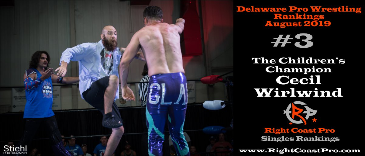 2019 CECIL 3 Rankings August RightCoastPro