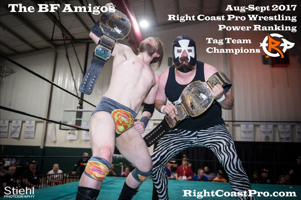 1 BFAmigos September Delaware Professional Wrestling TagTeam Rankings