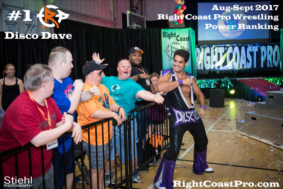 1 DiscoDave September Delaware Professional Wrestling Rankings