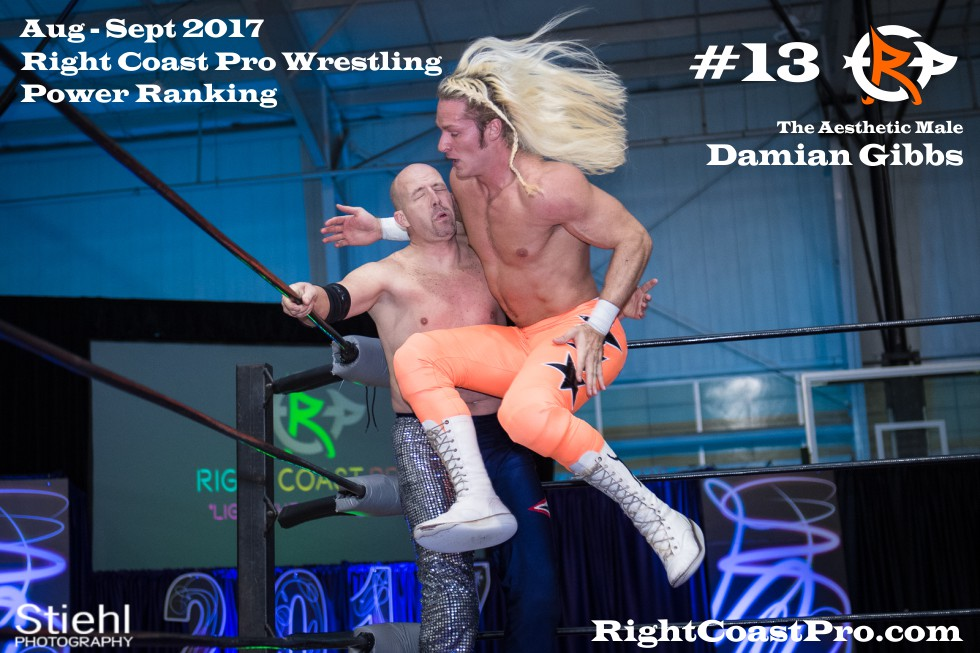 13 DamianGibbs September Delaware Professional Wrestling Rankings