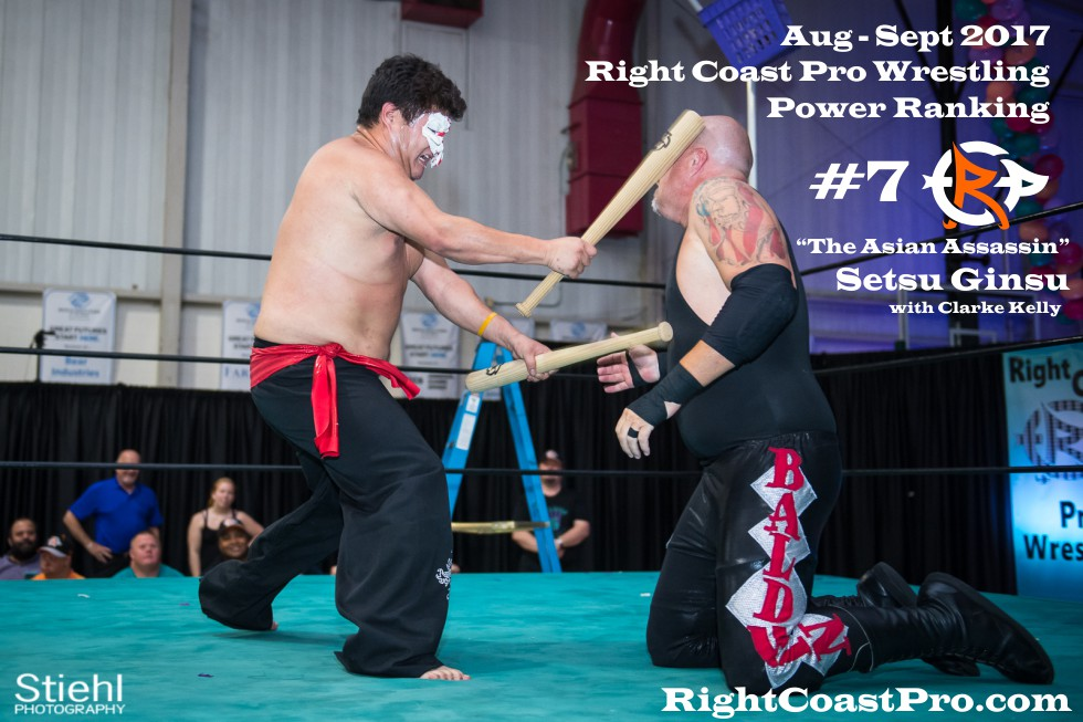7 SetsuGinsu September Delaware Professional Wrestling Rankings