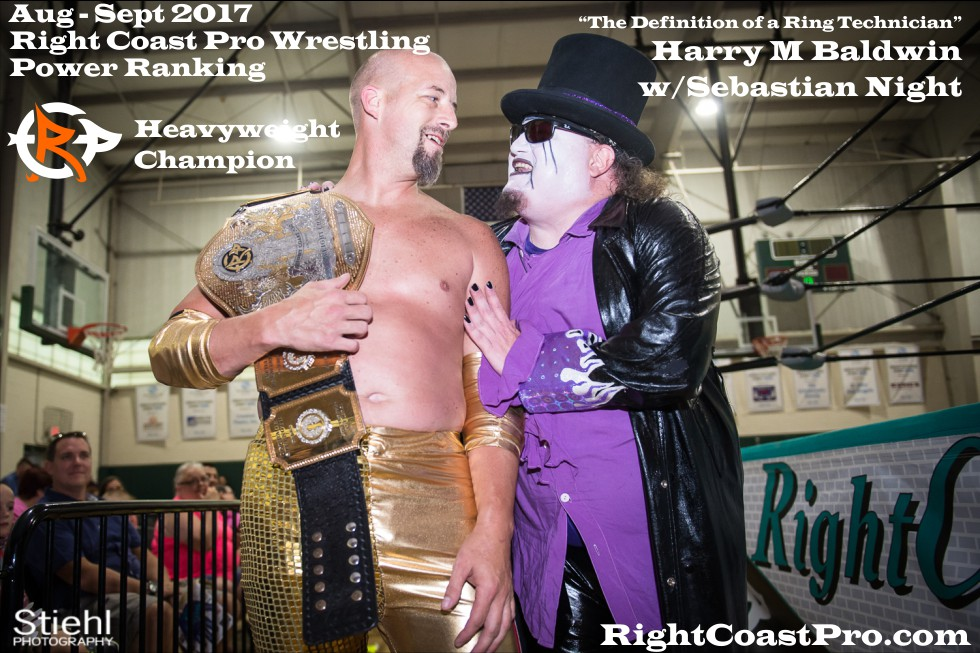 Heavyweight Champion September Delaware Professional Wrestling Rankings