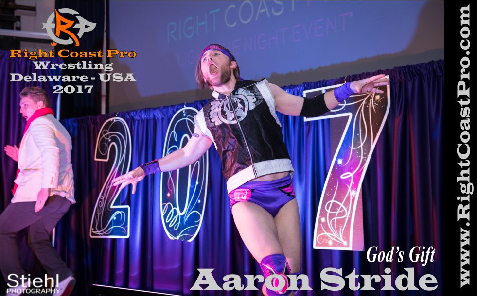 AaronStride 2017 rightcoast pro wrestling roster