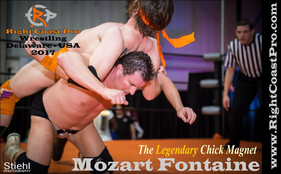 Mozart Fontaine 2017 rightcoast pro wrestling roster