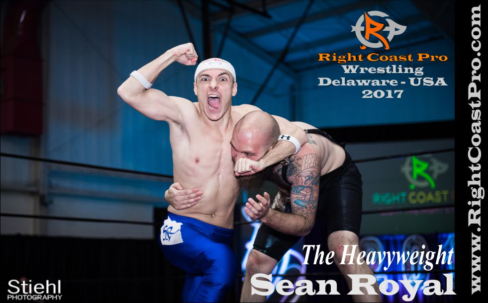 sean royal 2017 rightcoast pro wrestling Delaware roster