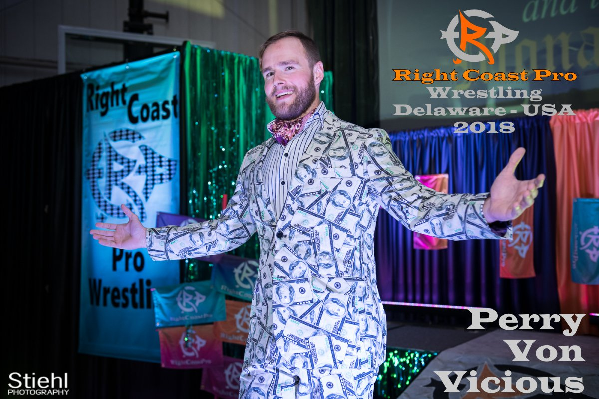 Perry Roster RightCoastPro Wrestling Delaware