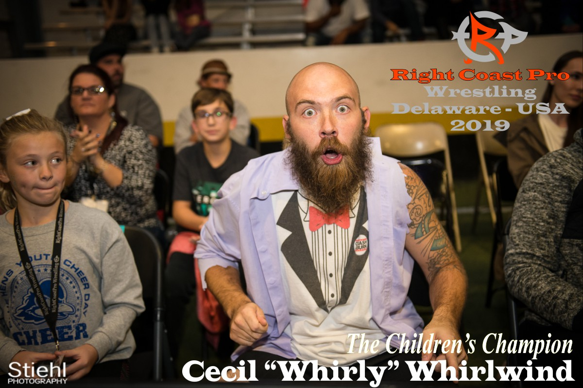 Cecil Whirlwind 2019 Roster RightCoastPro Wrestling Delaware