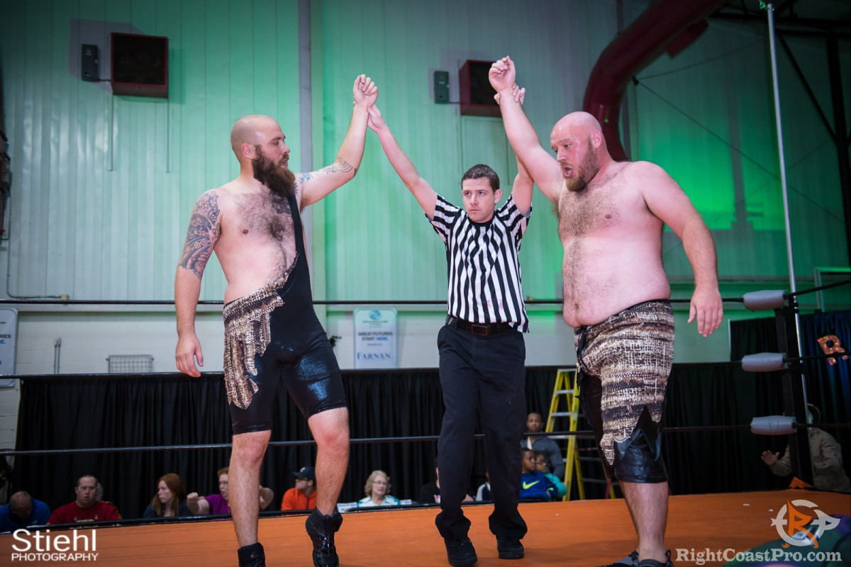 Savages B TagTeam Champions RightCoast Pro Wrestling Delaware