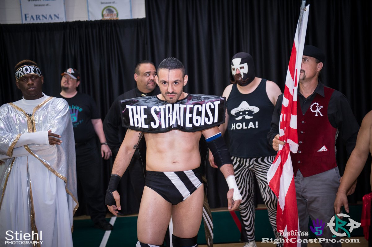 JustNeph A Festivus Five RightCoast ProWrestling Delaware Event
